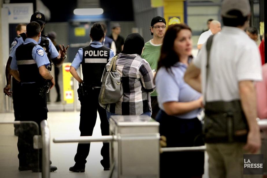 Le service de métro sur la ligneorange,... (Photo: Marco Campanozzi, La Presse)