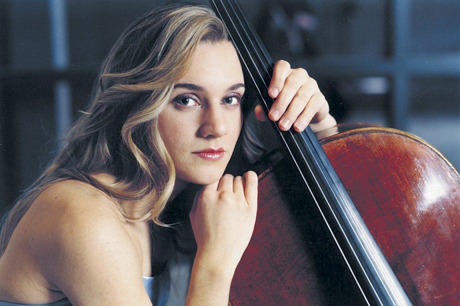 La jeune violoncelliste Denise Djokic.... (Photo officielle.)