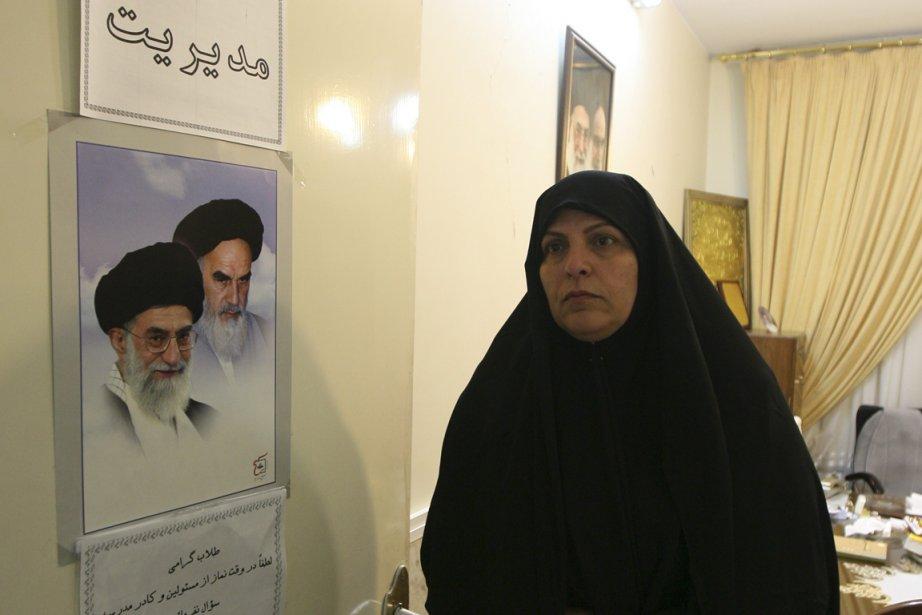 Hourieh Khodai est l'une des 35 femmes à... (Photo : Farzaneh Khademian, collaboration spéciale)