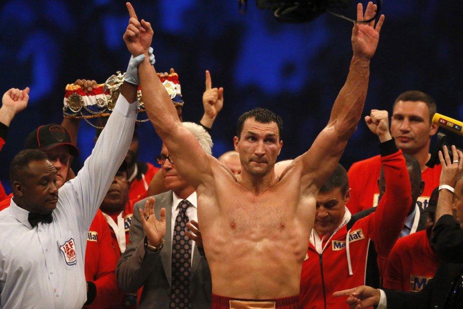 Wladimir Klitschko... (Photo : Ruben Sprich, Reuters)
