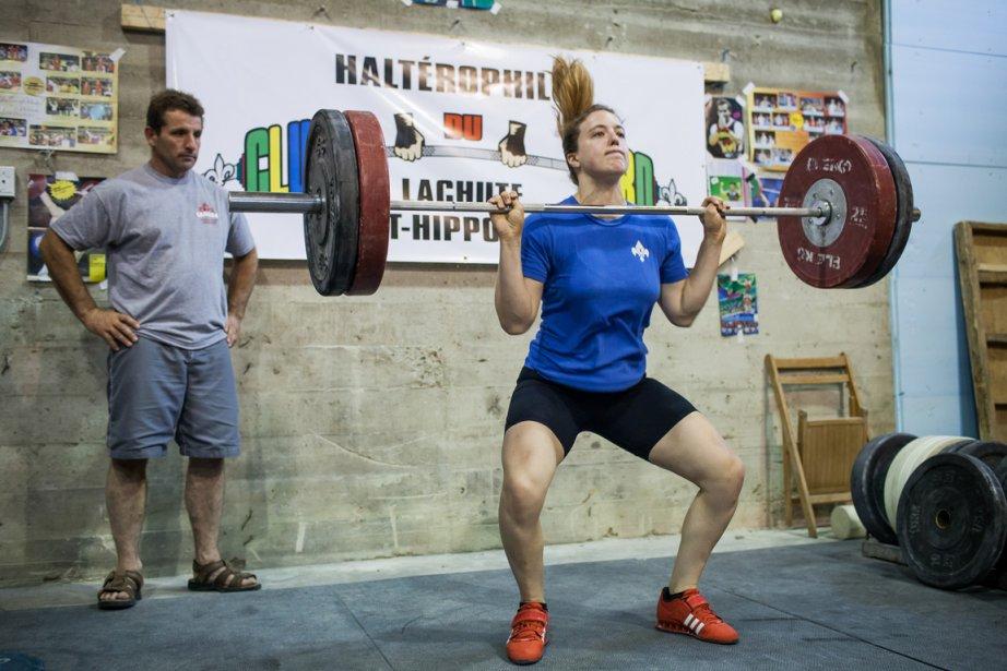 Marie-Ève Beauchemin-Nadeau à l'entraînement, la semaine passée.... (Photo Édouard Plante-Fréchette, La Presse)
