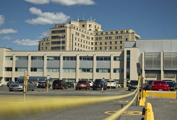 Tôt dimanche à l'hôpital Maisonneuve-Rosemont, un patient s'est... (Photo: Hugo Sébastien Aubert, La Presse)