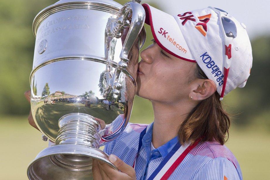 Na Yeon Choi a remporté son premier titre... (Photo : Julie Jacobson, AP)