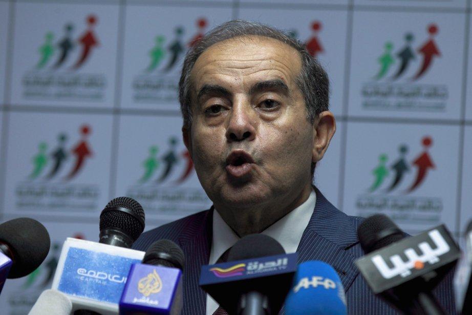 Mahmoud Jibril, le chef de l'Alliance des forces... (Photo : Zohra Bensemra, Reuters)