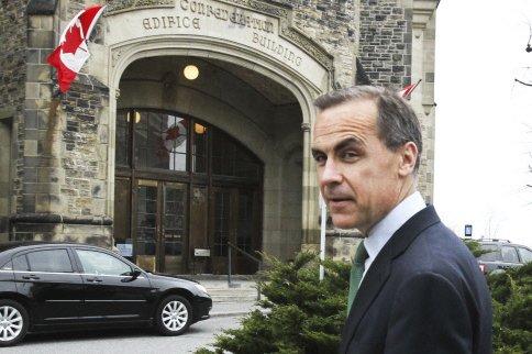 Le patron de la Banque du Canada, Mark...