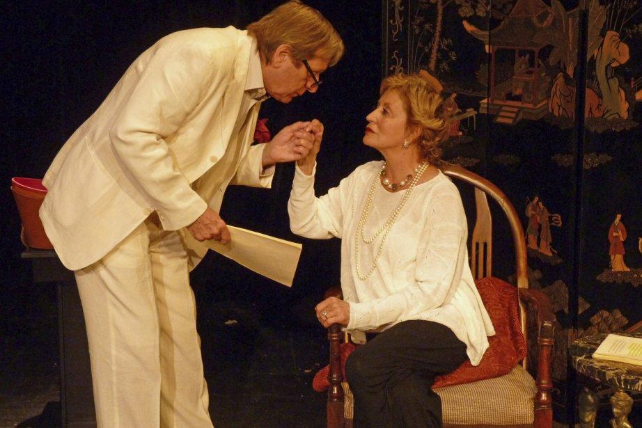 Albert Milliaire et Louise Marleau  dans Cher... (Photo: fournie par le Théâtre Lac Brome)