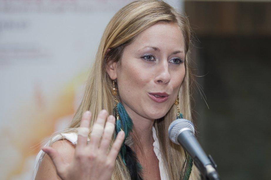 La percussionniste Mélissa Lavergne, porte-parole du Festival international... (Photo: Édouard Plante-Fréchette, La Presse)