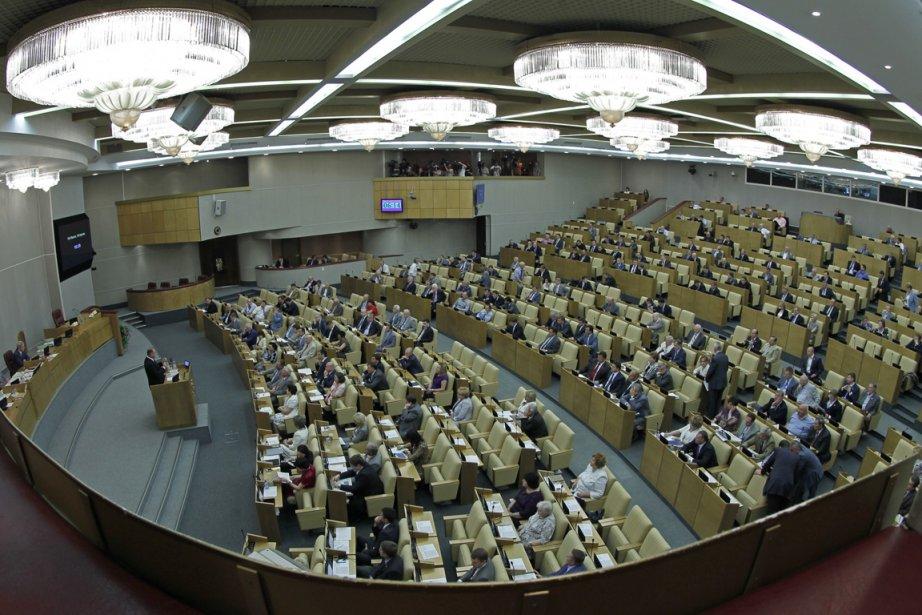 La Douma (chambre basse du Parlement russe).... (Photo Associated Press)