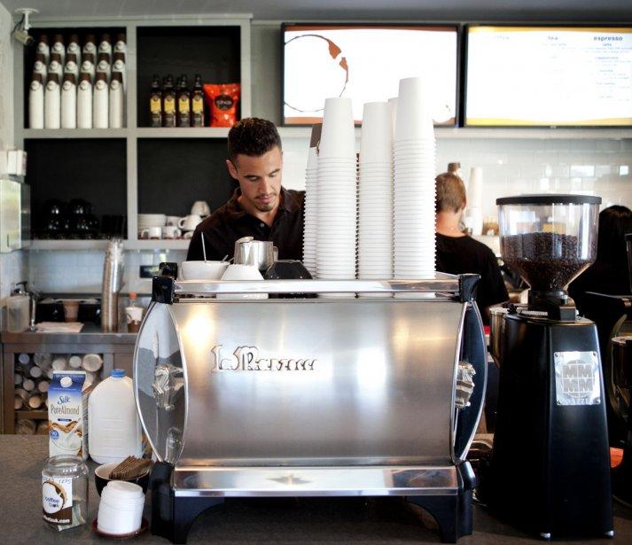 Le barista du Coffee Tauk | 10 juillet 2012