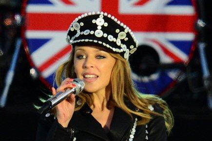 Kylie Minogue en spectacle à Londres le mois... (Photo: AFP)
