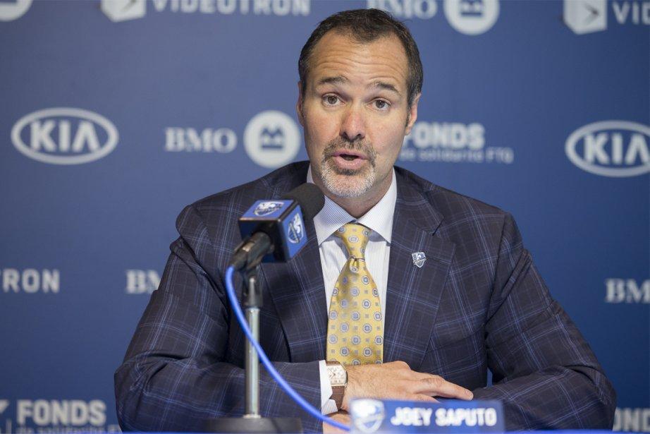Le président de l'Impact de Montréal, Joey Saputo.... (Photo: Olivier PontBriand, La Presse)
