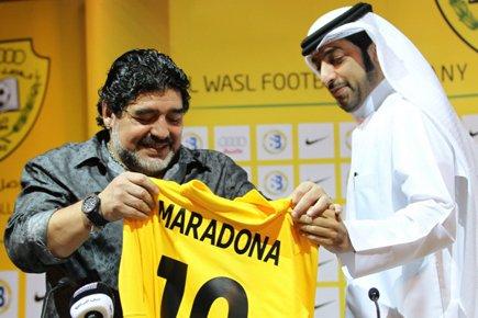 Maradona a été confirmé dans ses fonctions le... (Photo: AFP)