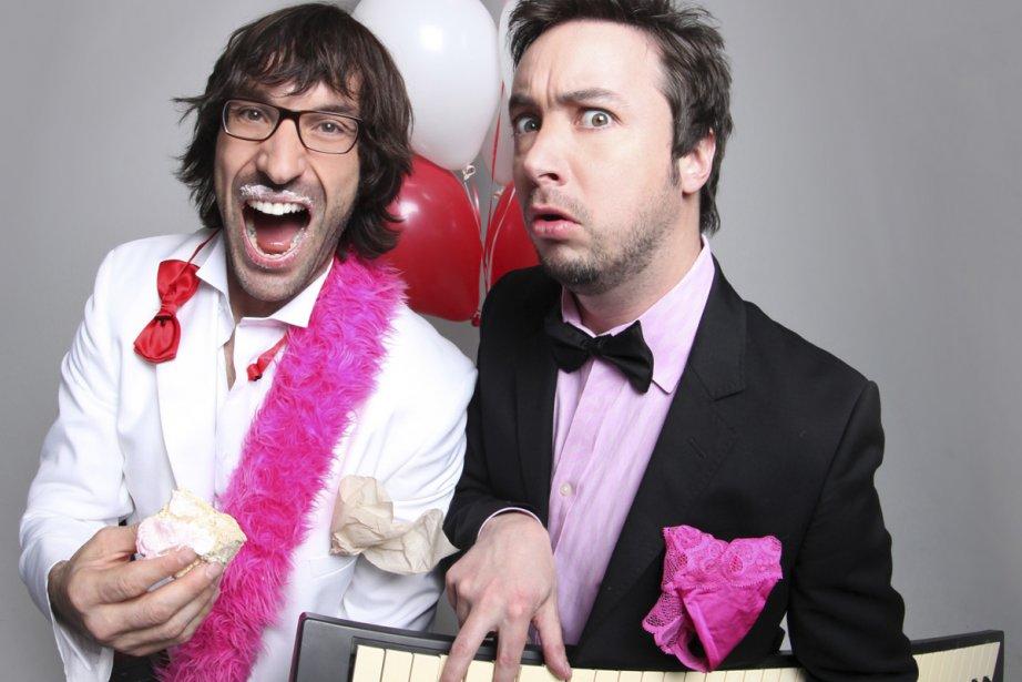 Les chanteurs de noces... (Photo: fournie par le Zoofest)
