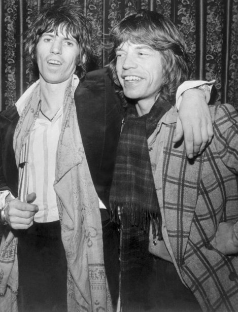 Keith Richards et Mick Jagger en juillet 1962. (Photo: AFP)