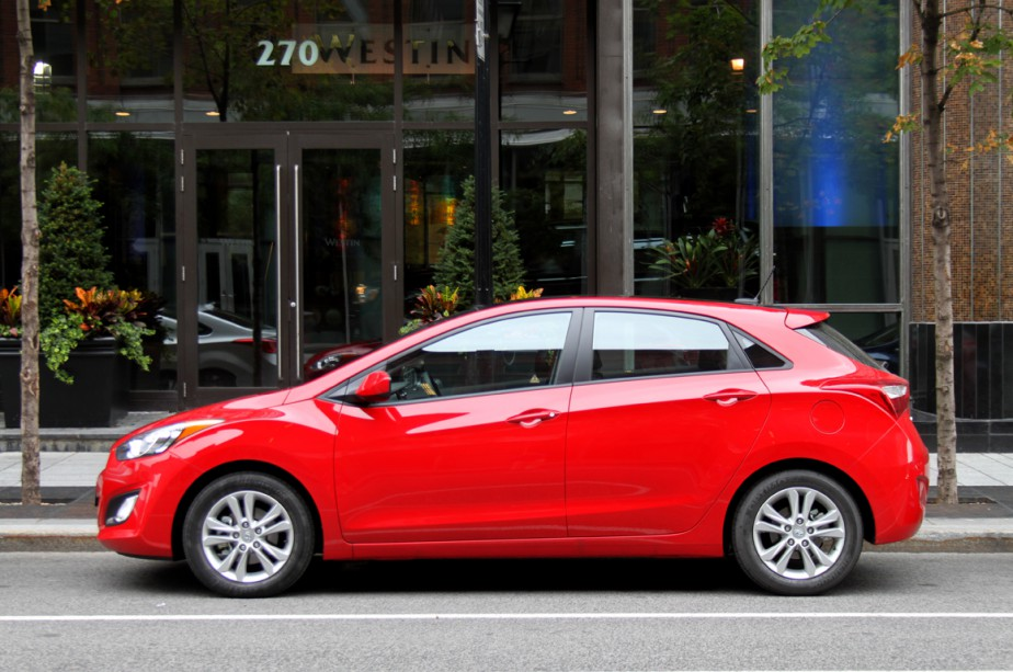 La Hyundai Elantra GT sera sans doute la... (Photo Jacques Duval, collaboration spéciale)