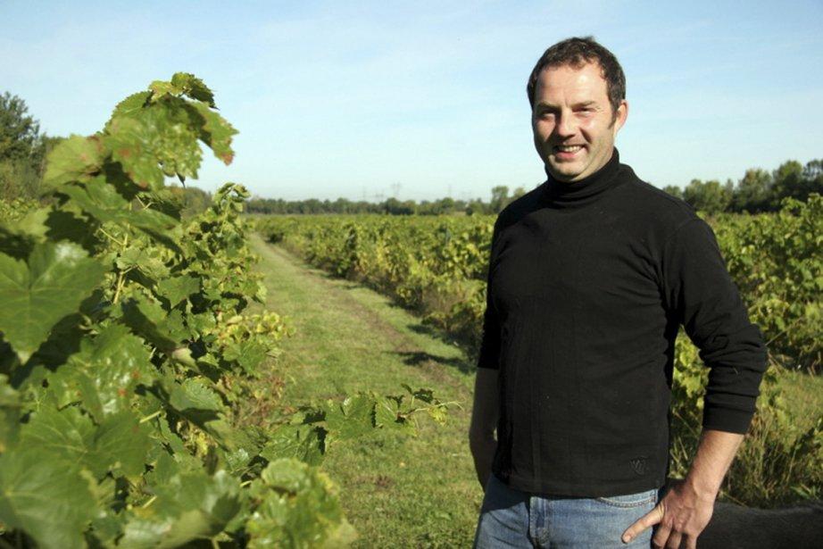 Le vigneron Thierry Kobloth... (Photo fournie par le Vignoble)