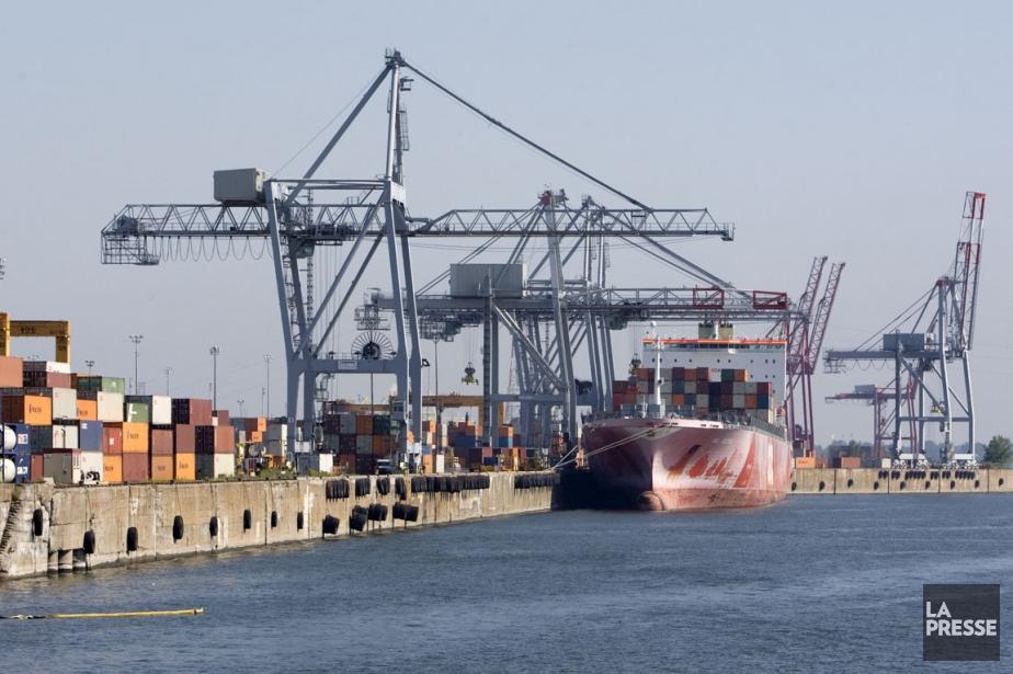 En septembre, les exportations canadiennes se sont accrues... (Photo Robert Skinner, archives La Presse)