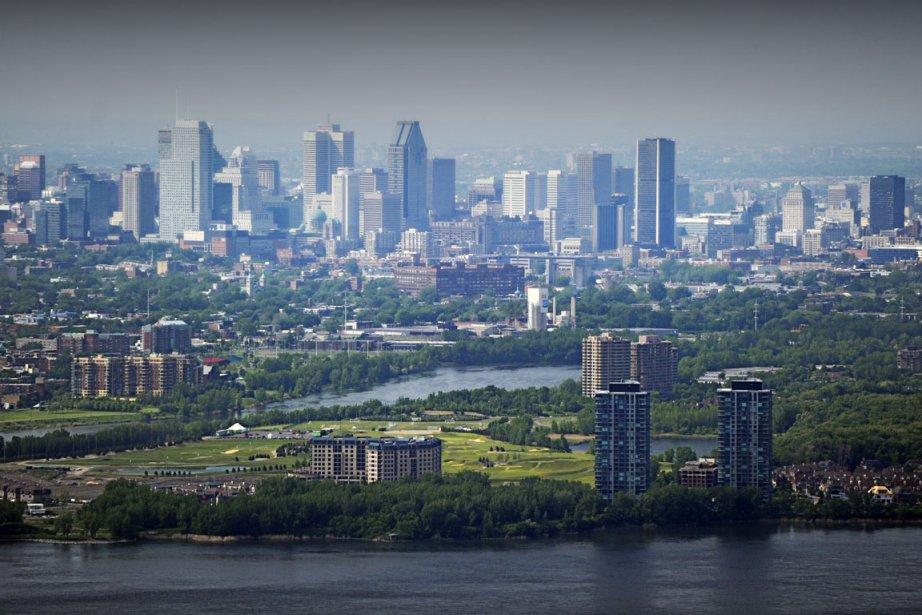 Centre-ville de Montréal... (Photo Bernard Brault, La Presse)