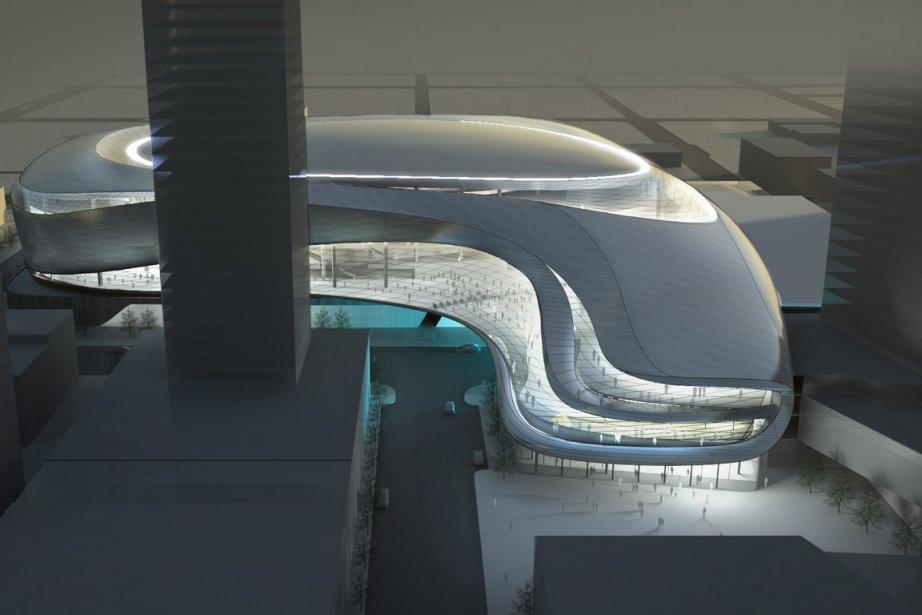 L'un des projets suggérés pour le futur amphithéâtre... (Photo : PC)