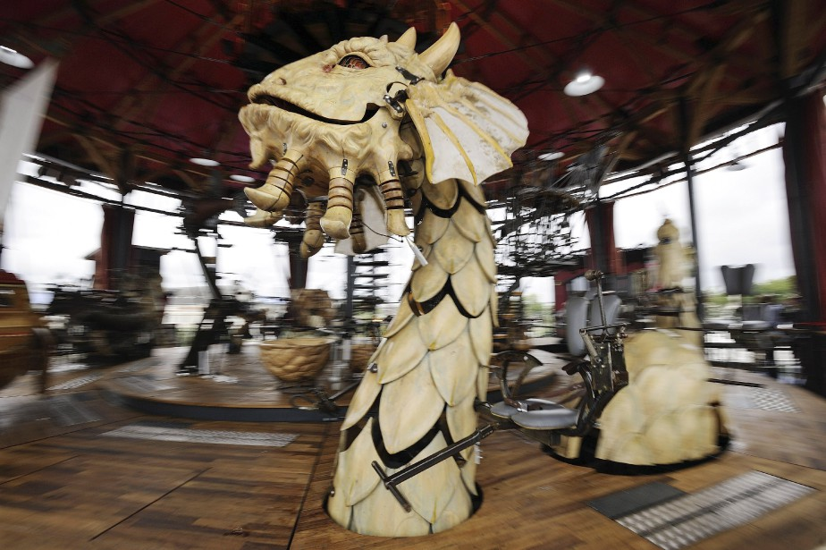 Photo du jour juillet 2012 - Le carrousel des mondes marins ...