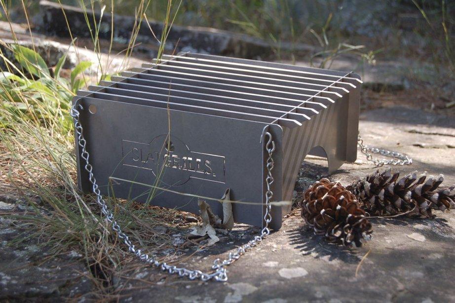 Le Slatgrill, un système de poêle plus léger... (Photo fournie par Slatsgrill)