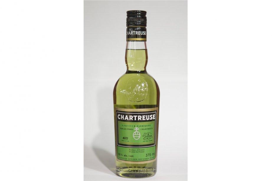 Chartreuse verte, liqueur à base d'herbes... (Photo La Presse)