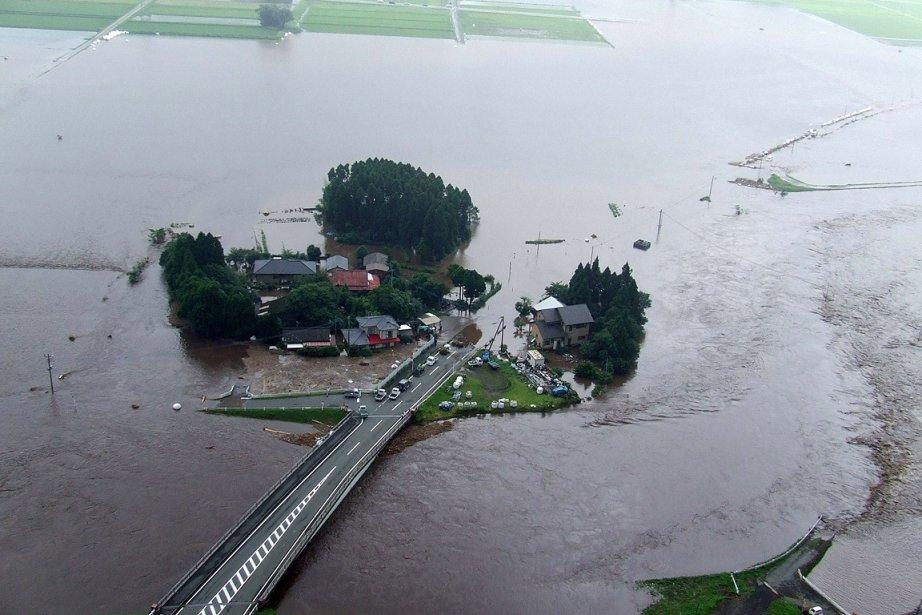 Des pluies torrentielles se sont abattues sur le sud-ouest du... | 2012-07-15 00:00:00.000