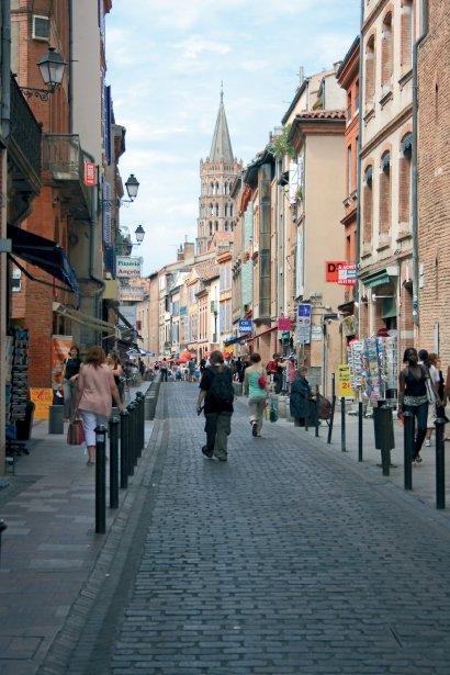 La rue de Taur à Toulouse. | 16 juillet 2012