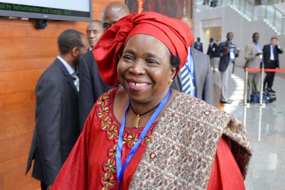 À 63 ans, Nkosazana Dlamini-Zuma,ex-épouse du président sud-africain... (PHOTO TIKSA NEGERI, REUTERS)