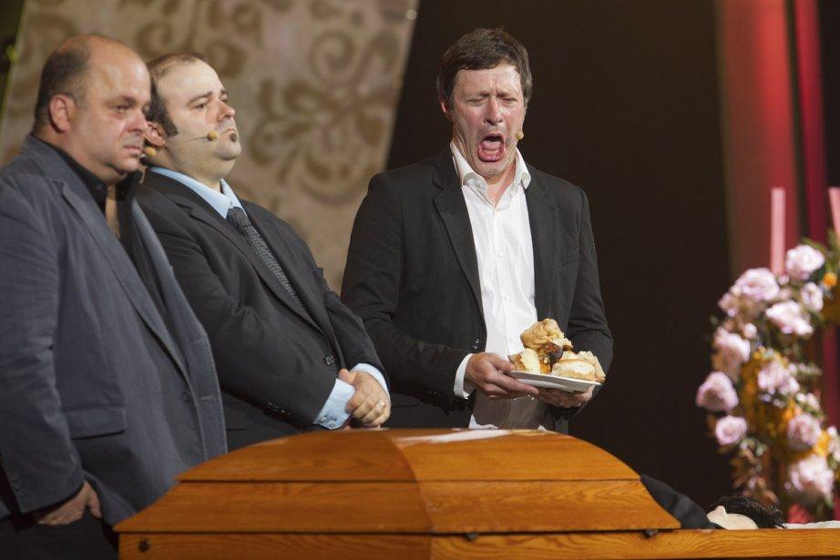Sylvain Larocque, Laurent Paquin et Stéphane Fallu ont... (Photo: Édouard Plante-Fréchette, La Presse)
