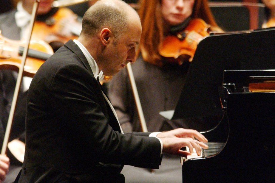 Le pianiste Benedetto Lupo.... (Photo: Patrick Sanfaçon, archives La Presse)