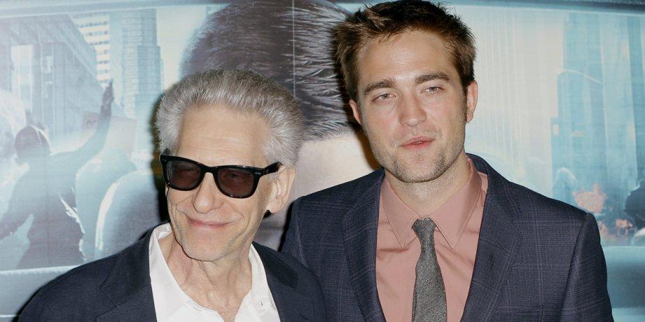 Le réalisateur David Cronenberg, à gauche, ne tarit... (AP)