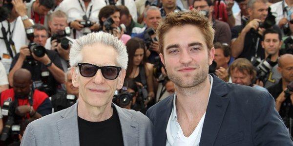David Cronenberg et Robert Pattinson au Festival de... (AFP)