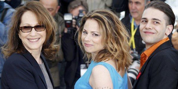 Suzanne Clément entourée de Nathalie Baye et de... (Reuters)