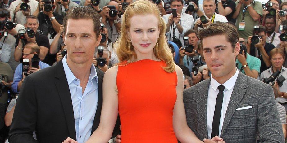 Nicole Kidman, en compagnie de ses covedettes Matthew... (AFP)