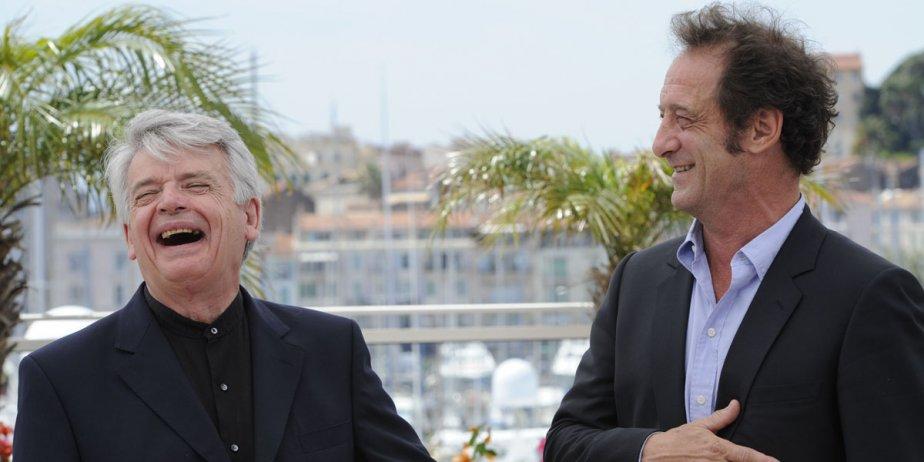 Alain Cavalier et Vincent Lindon... (Fournie par AFP)