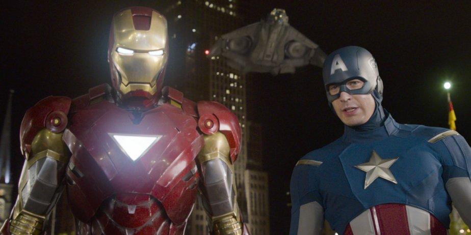 Iron Man (Robert Downey Jr.) et Captain America... (Disney)