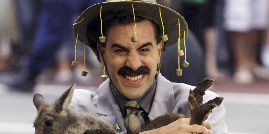 Sacha Baron Cohen dans le rôle de Borat.... (Reuters)