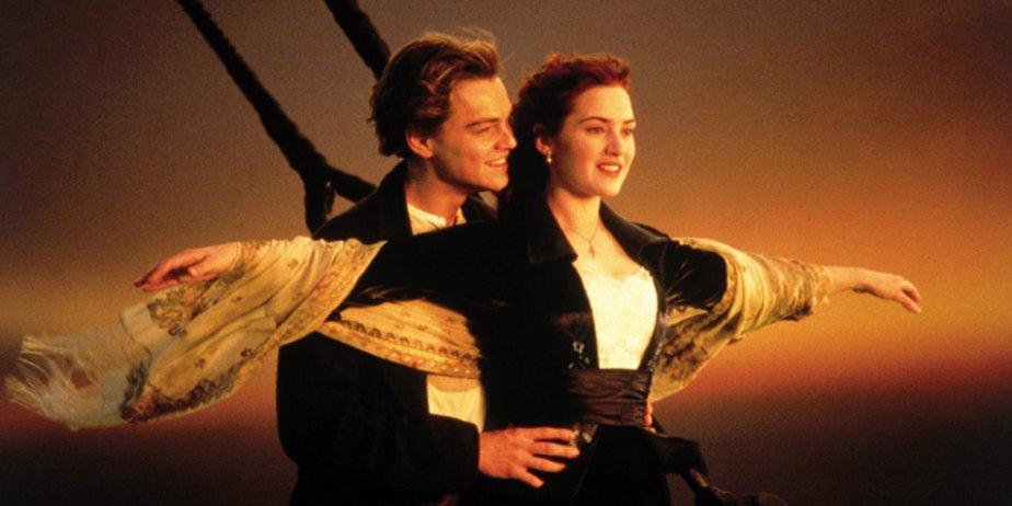 Leonardo DiCaprio et Kate Winslet dans Titanic... (Paramount Pictures)