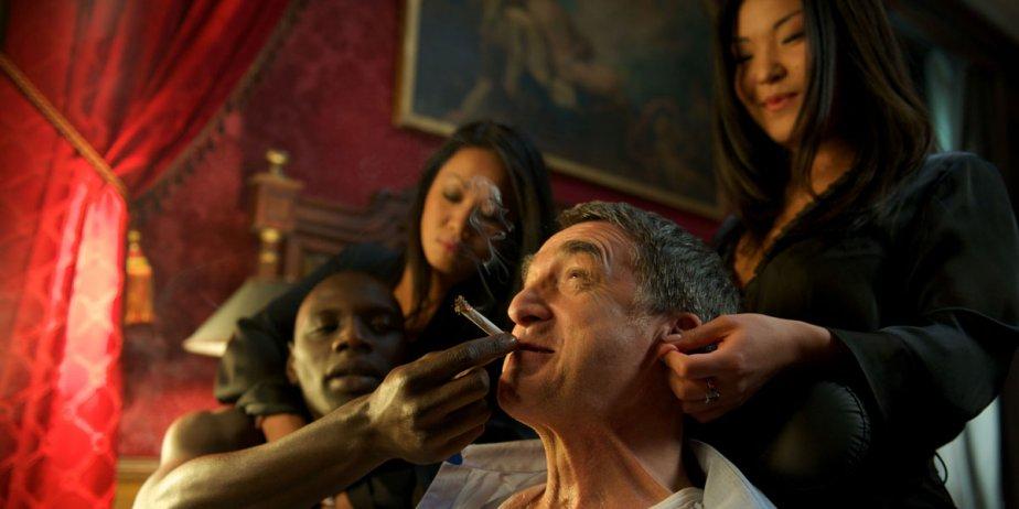François Cluzet dans le film Intouchables.... (Fournie par Alliance Films)