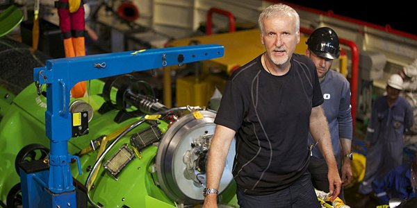 James Cameron a plongé seul à bord d'un... (National Geographic)