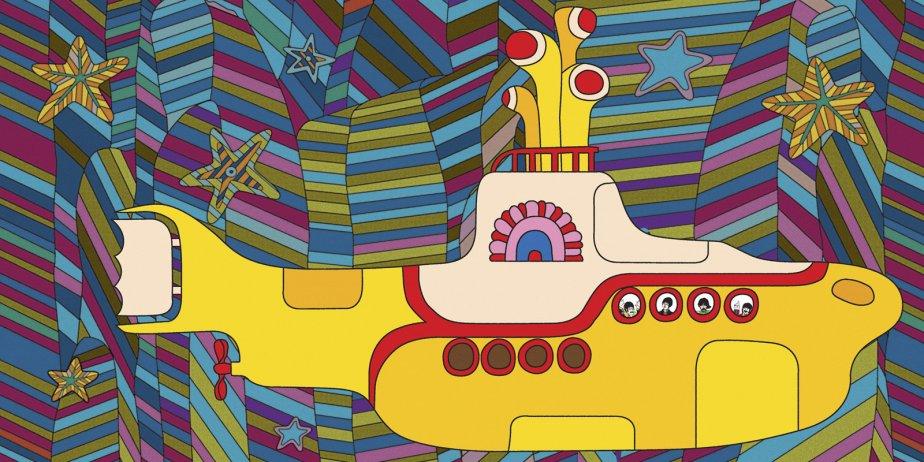 Le film d'animation Yellow Submarine a été... (Subafilms/Associated Press)