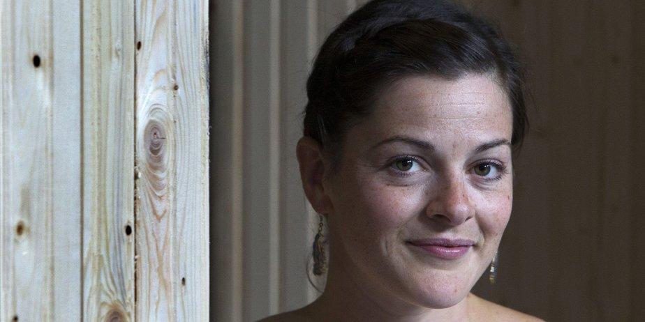 Sophie Cadieux est la porte-parole du festival Regard... (Robert Skinner, Archives La Presse)