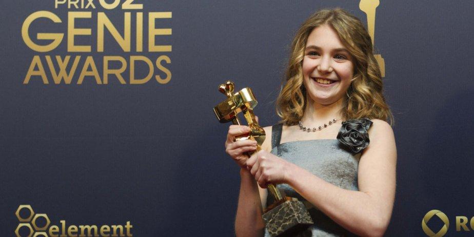 La jeune Sophie Nelisse, 11 ans, a été... (MARK BLINCH, Reuters)