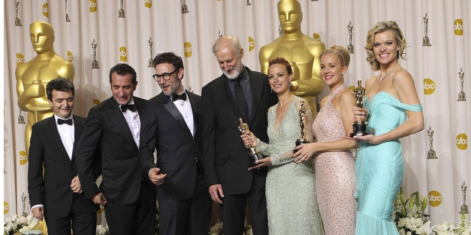 The Artist, le grand gagnant des Oscars.... (Fournie par AP)