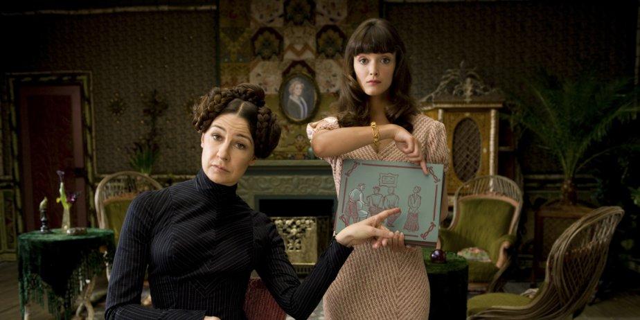 Valérie Lemercier et Charlotte LeBon.... (fournies par les films Séville)