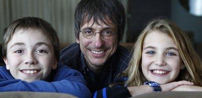 Émilien Néron, Philippe Falardeau et Sophie Nélisse.... (Photo La Presse)