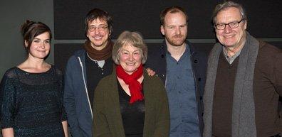 Anne Émond, Philippe Falardeau, Micheline Lanctot, Stéphane Lafleur... (Photo Robert Skinner, La Presse)