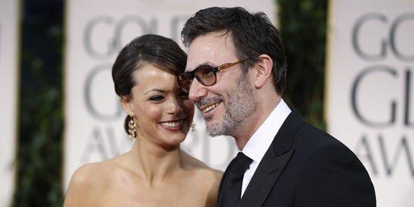 Michel Hazanavicius et Bérénice Béjo.... (Photo AFP)