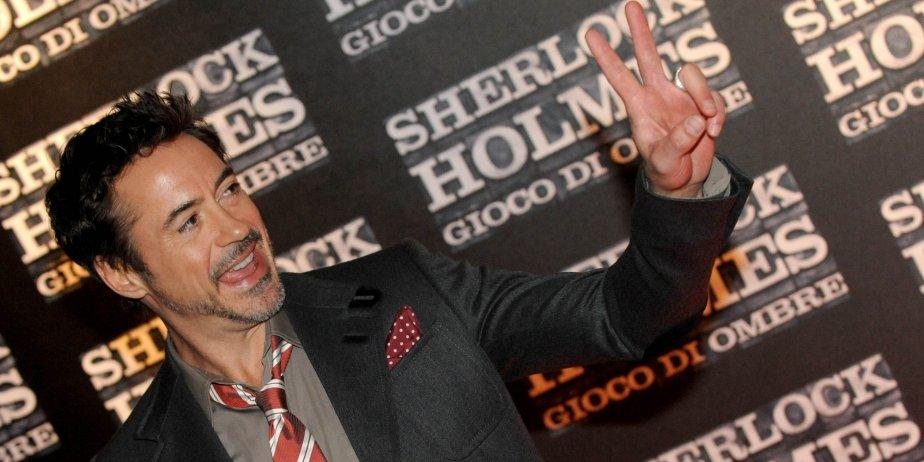 Robert Downey Jr. lors de la première de... (Tiziana Fabi, AFP)